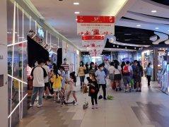 上海重迎消费潮,市民五一购物忙